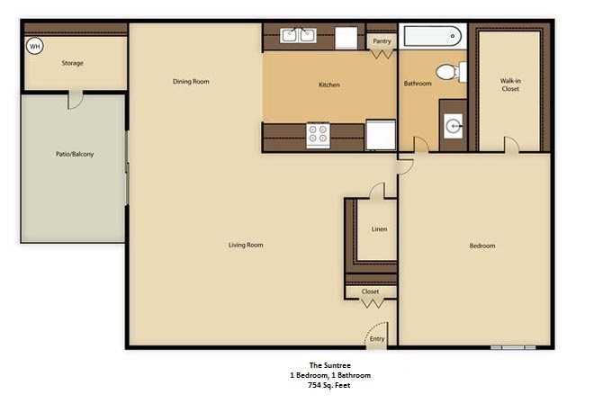 The Suntree Floor Plan 1