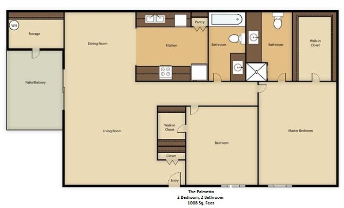 The Palmetto Floor Plan 2