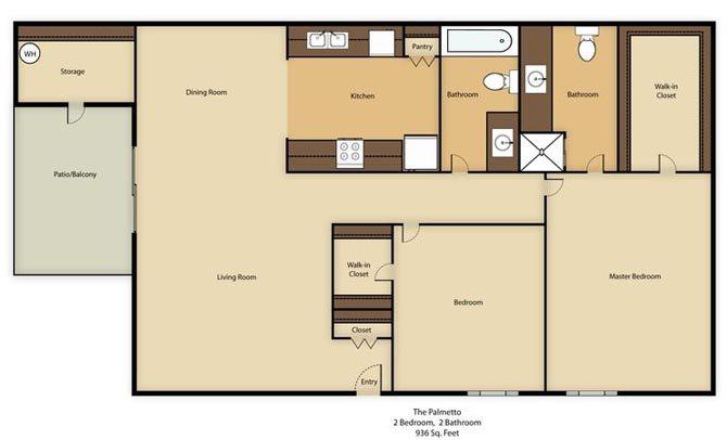 The Palmetto Casita Floor Plan 4