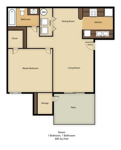 Haven Floor Plan 1