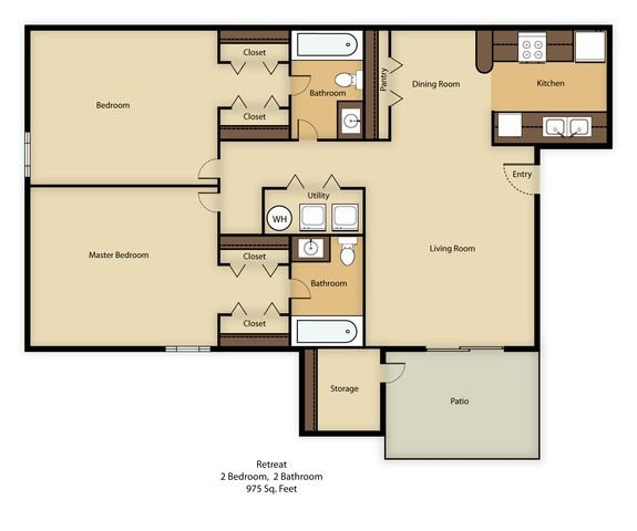 Retreat Floor Plan 3