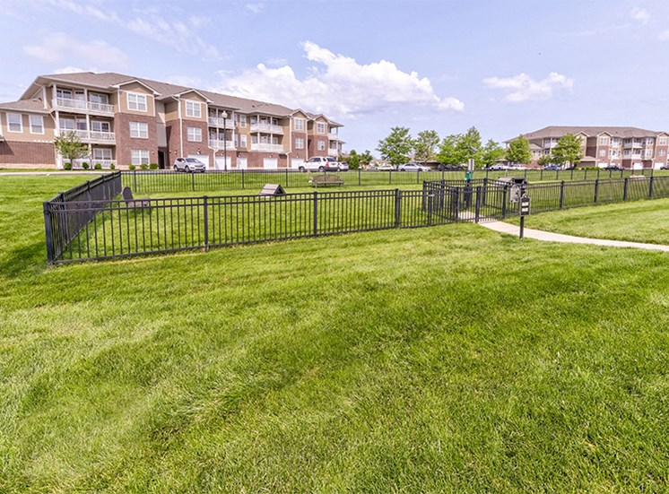 Dog Park at Westhaven Luxury Apartments