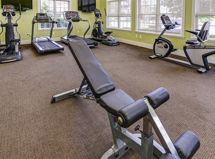 24/7 Fitness Center at Westhaven Luxury Apartments