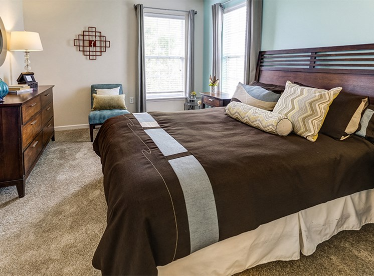 Mirbeau Style Floorplan Guest Bedroom