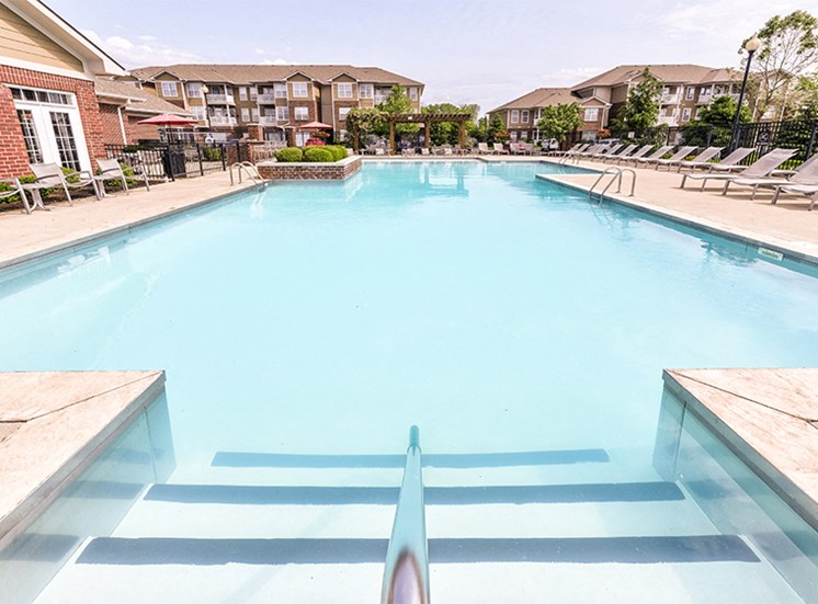 Resort-Style Swimming Pool at Westhaven Luxury Apartments