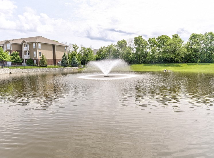 Tranquil Pond at Westhaven Luxury Apartments