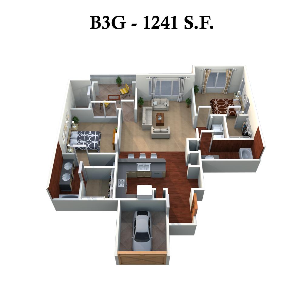 B3G Floor Plan 7
