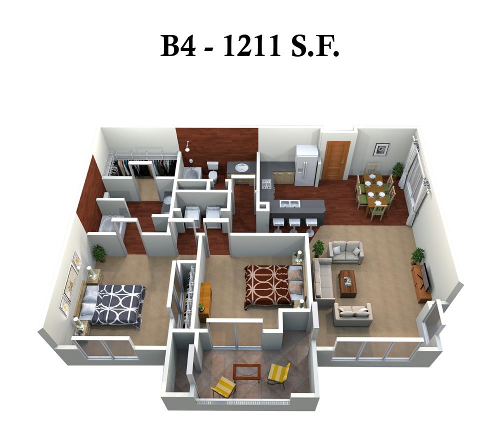 B4 Floor Plan 8