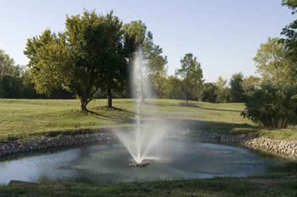 In the front of our community, you will see our beautiful pond and fountain.