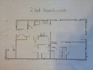 2bed townhouse