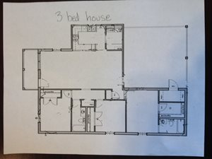 3bed house