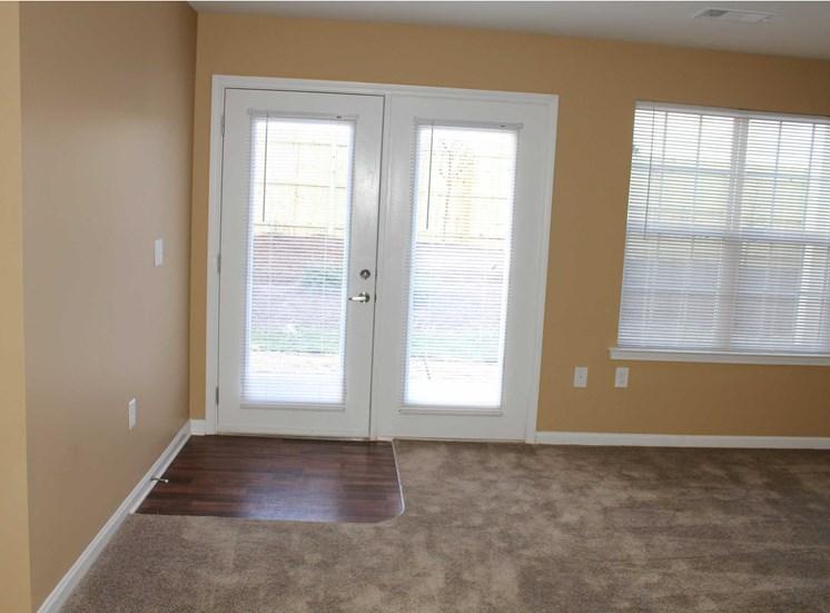 carpet inside apartment near door