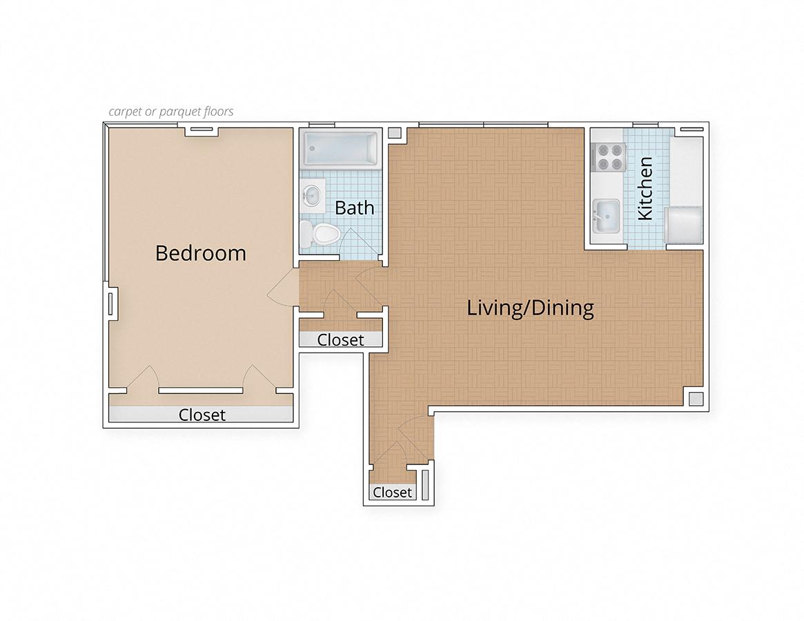 connecticut apartments washington dc one bedroom floor plan. 1 Bedroom Apartments In Dc    One Bedroom Floor Plan Meridian Park