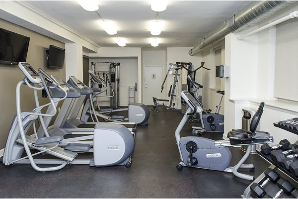 Cathedral Mansions Apartments gym Woodley Park Washington DC