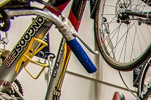Paramount apartments in Petworth, Washington DC bike room
