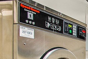 Paramount apartments in Petworth, Washington DC laundry room