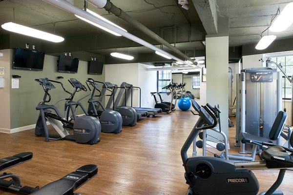 Chalfonte Apartments gym Columbia Heights Washington DC