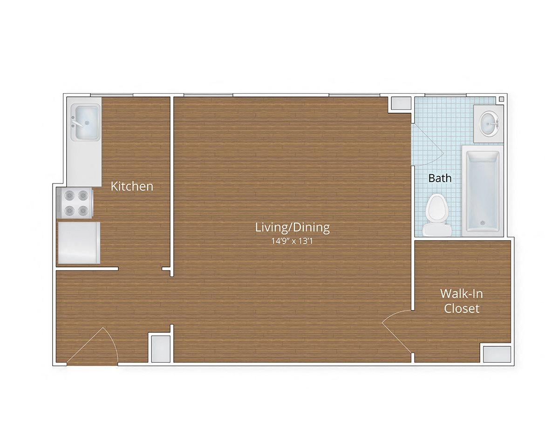 Floor Plans Studio Apartments In Adams Morgan 1 Bedroom - Cheap-1-bedroom-apartments-plans