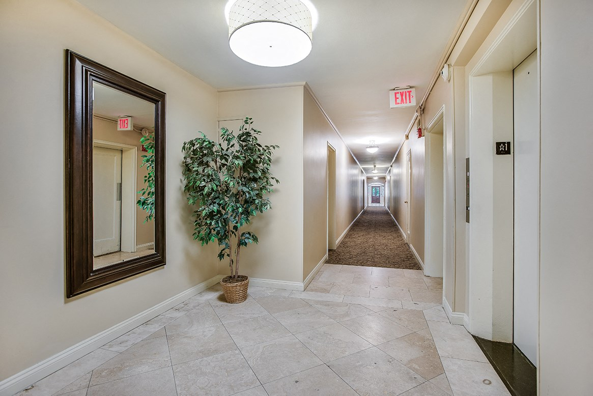 Mason Hall Apartments Hallway In Old Town Alexandria Virginia