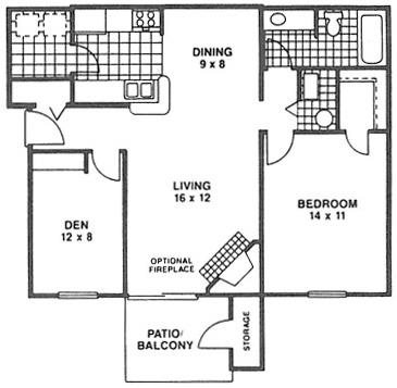 The Chesterfield Cup Floor Plan 2
