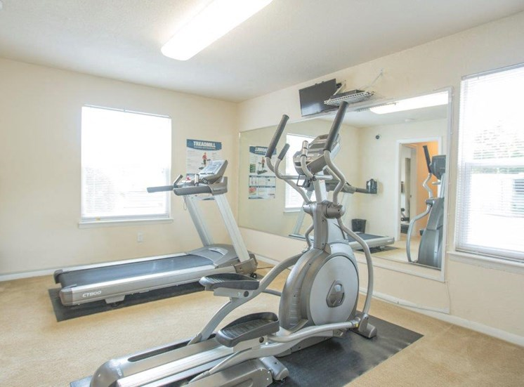Fitness Center at affordable apartments in Churchland VA