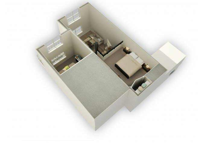 A3 - M floor plan.
