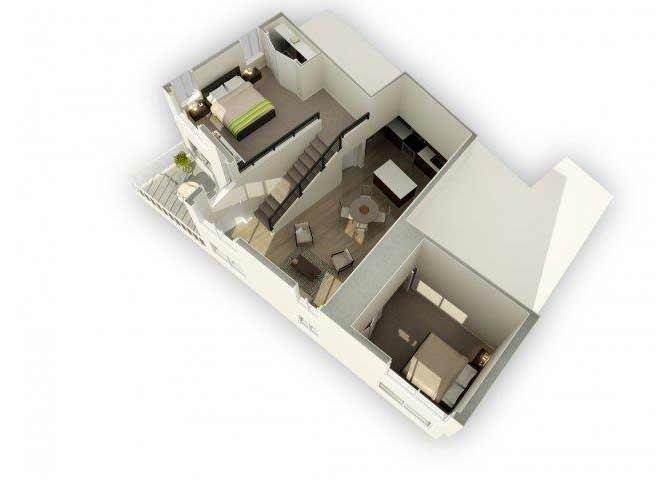 B2 - M floor plan.
