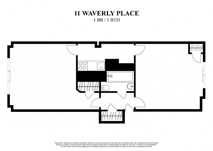 11 WAVERLY PLACE - 1 BR _ 1 BTH - 112_5