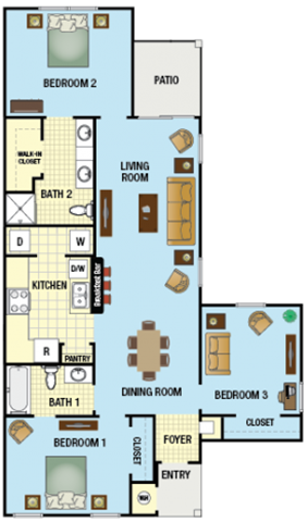 Daisy Floor Plan 3