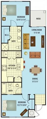 Rose Floor Plan 2