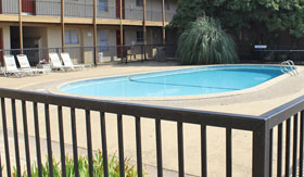 Outdoor Pool at Apartments in Stephenville