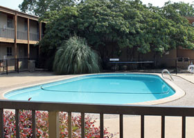 Swimming Pool at Apartments in Stephenville