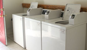 Laundry Facilities at Apartments in Stephenville
