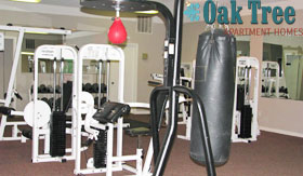 Fitness Center at Oak Tree Apartments
