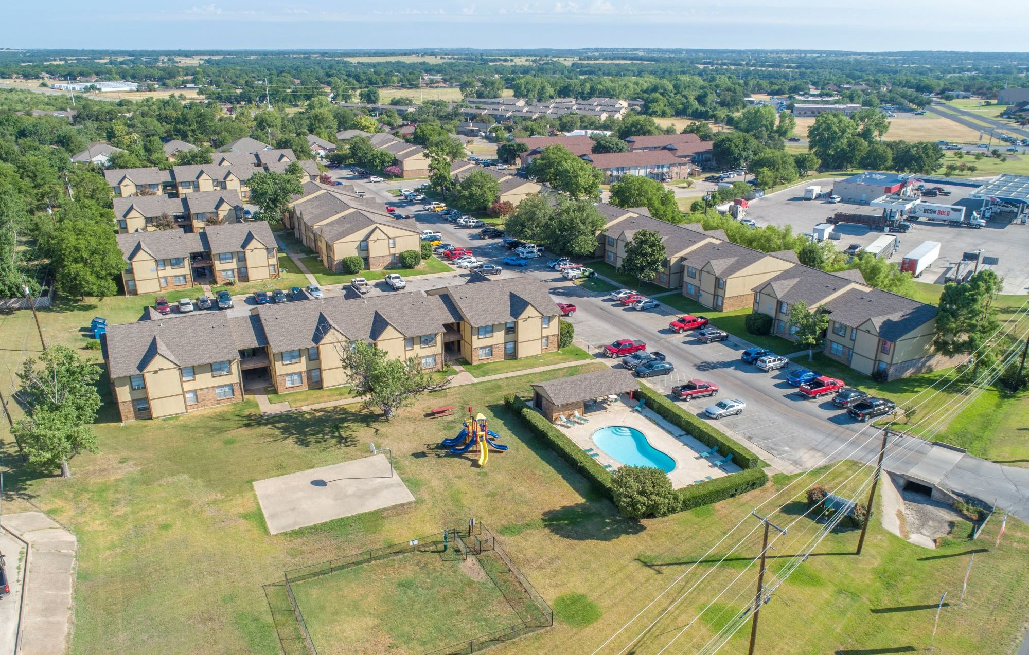 Parkview Apartments in Stephenville, TX