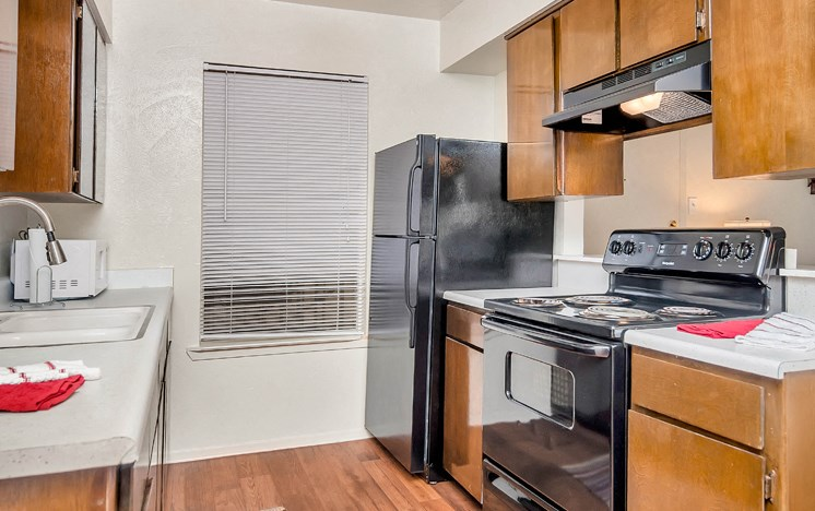 Apartments in Stephenville Kitchen