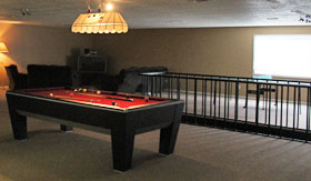 Game Room at Oak Tree Apartments in Stephenville