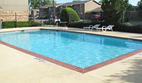 Two Pools at Apartments in Stephenville