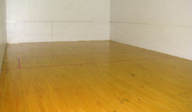 Two Racquetball Courts at Apartments in Stephenville