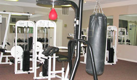 Apartments in Stephenville with a Fitness Center
