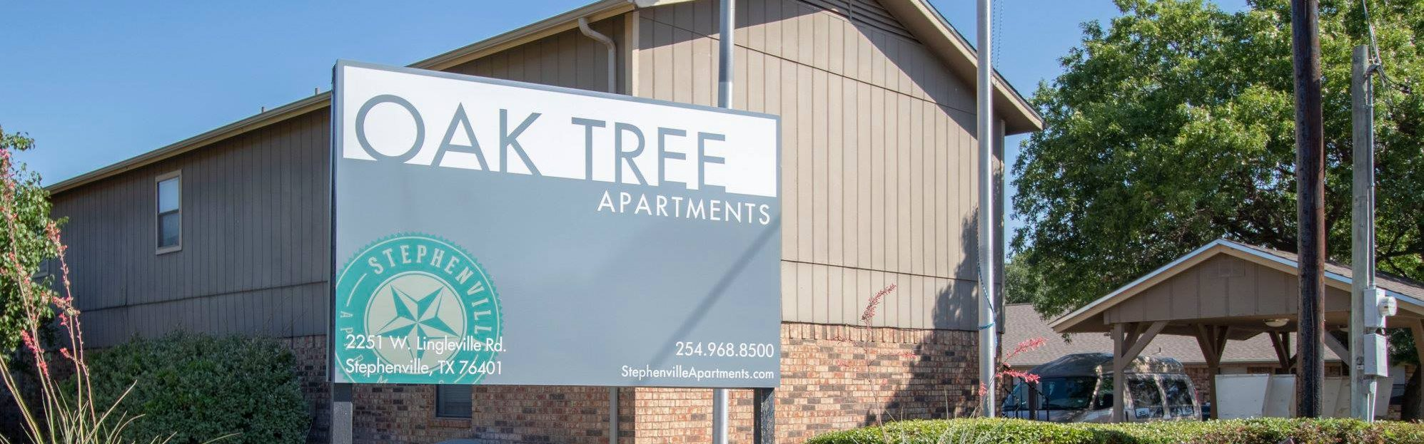 Oak Tree Apartments in Stephenville TX