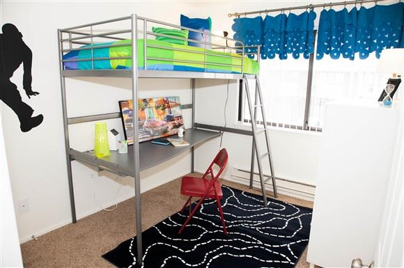 Child Bedroom at Kingston Square Apartments, Indianapolis, Indiana