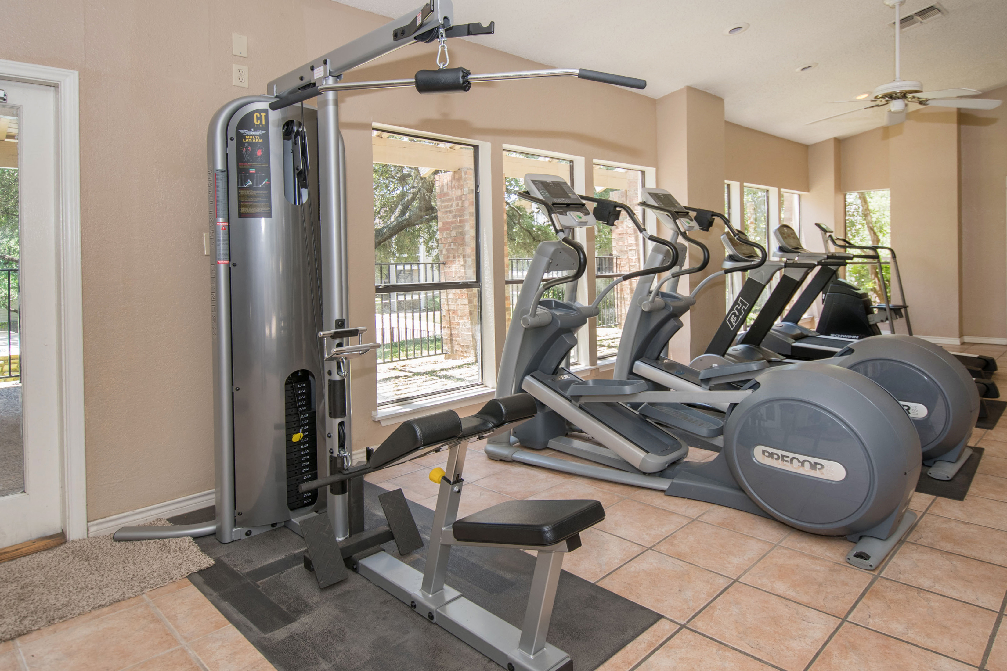 Cardio Equipment at Sunset Canyon, San Antonio, Texas