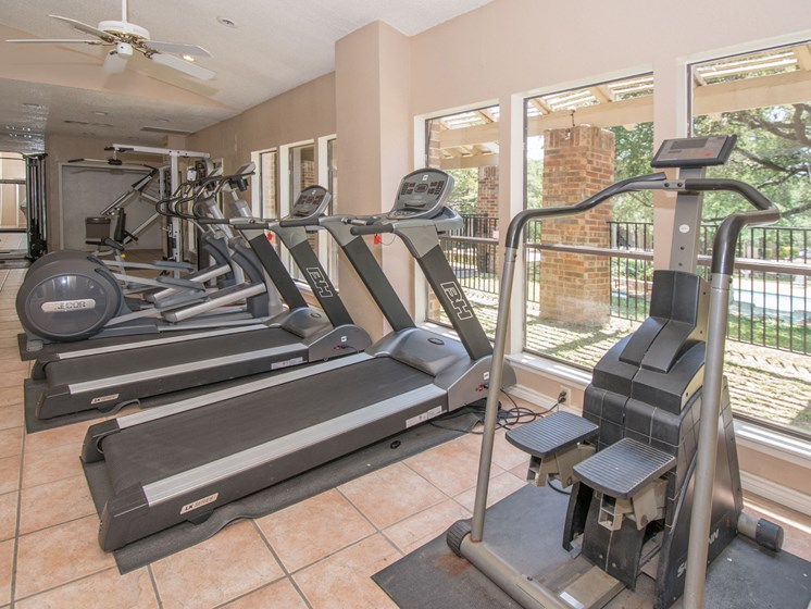 State-of-the-Art Fitness Center at Sunset Canyon, Texas