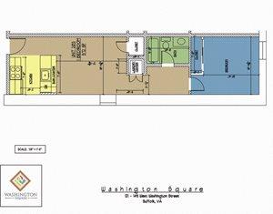 Washington Square Unit 203