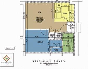 Washington Square Unit 227