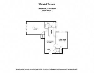 Wendell Terrace (WT1F)