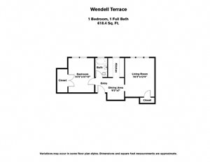 Wendell Terrace (WT1D)