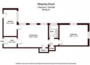 Chauncy Court (CC1B)