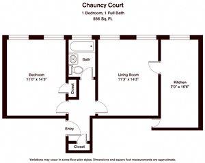 Chauncy Court (CC1C)